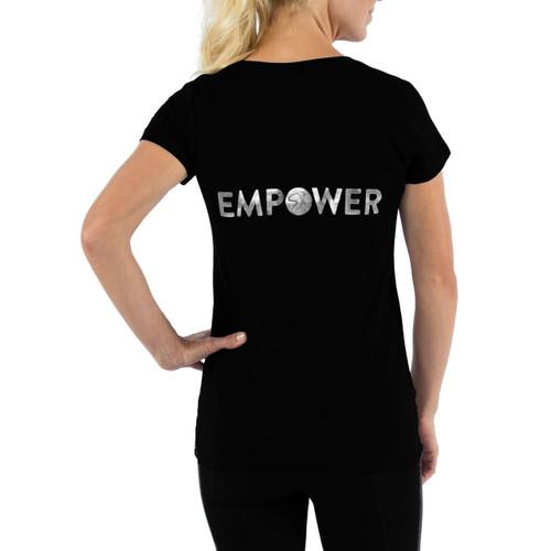 Empower V-Neck Tee