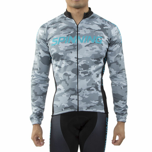 Spinning® Hercules Men's Cycling Jacket Blue