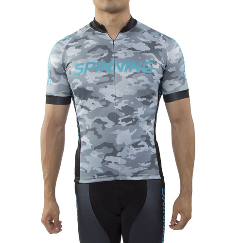 Spinning® Hercules Men's Cycling Jersey Blue