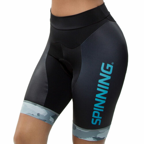Spinning® Hercules Women's Cycling Shorts Blue