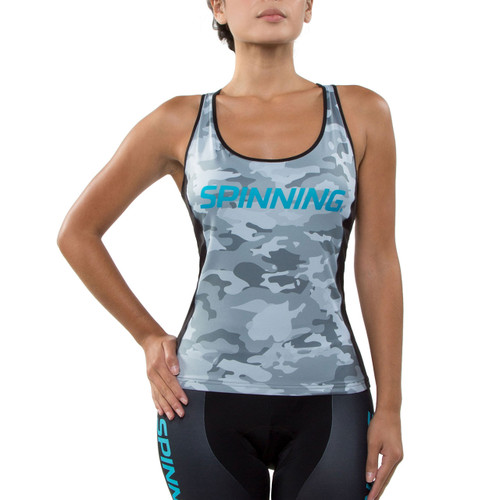 Spinning® Hercules Women's Cycling Donna Top Blue