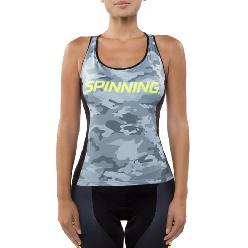 Spinning® Hercules Women's Cycling Donna Top Yellow