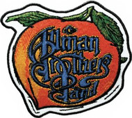 Allman Brothers Band Iron-On Patch Peach Letters Logo