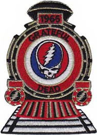 Grateful Dead Iron-On Patch Train Logo