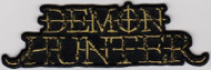 Demon Hunter Iron-On Patch Letters Logo