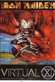 Iron Maiden Poster Flag Virtual XI Tour Tapestry
