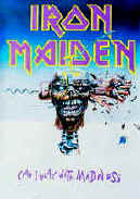 Iron Maiden Poster Flag Can I Play With Madness Tapestry