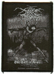 Darkthrone Sew On Patch The Cult Is Alive Logo