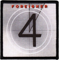 Foreigner Iron-On Patch Square Four Logo