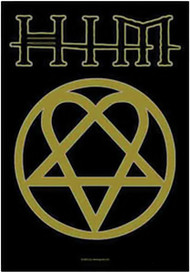 HIM Poster Flag Heartagram Logo Tapestry