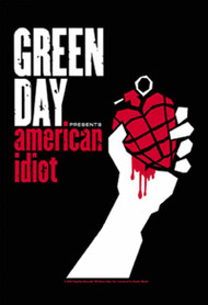 Green Day Poster Flag American Idiot Logo Tapestry