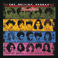 Rolling Stones Iron-On Patch Some Girls Logo
