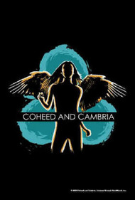 Coheed And Cambria Poster Flag Angel Logo Tapestry