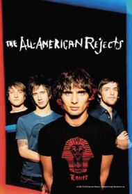 All-American Rejects Poster Flag Band Photo Logo Tapestry