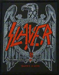 Slayer Sew On Patch Eagle Logo