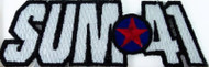 Sum 41 Iron-On Patch Star Logo