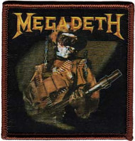 Megadeth Iron-On Patch Soldier Logo
