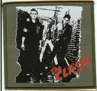 The Clash Sew On Patch First Album Cover