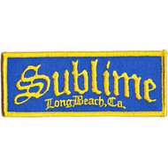 Sublime Iron-On Patch Long Beach Logo