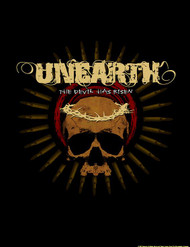 Unearth Poster Flag Devil Has Risen Tapestry