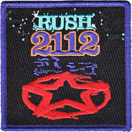 Rush Iron-On Patch Square 2112 Logo