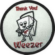 Weezer Iron-On Patch Chinese Take Out Logo