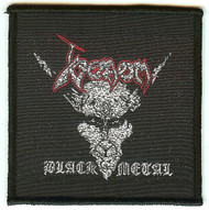 Venom Sew On Patch Black Metal Logo
