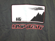 Limp Bizkit T-Shirt Space Ship Gray Size XL
