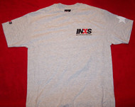 INXS T-Shirt Just For Kicks Tour Gray Size Medium