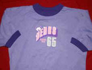 Grateful Dead Ringer T-Shirt Bears 65 Purple Size Small