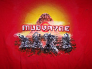 Mudvayne T-Shirt Logo Red Size XL