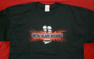 Metal Blade Records T-Shirt Black Size Medium