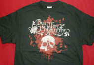 Bullet For My Valentine T-Shirt Rose Skull Black Size Small