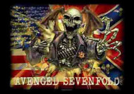 Avenged Sevenfold Poster Flag Confederate Tapestry