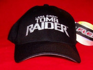 Tomb Raider Hat Eye Logo Black Size Large XL