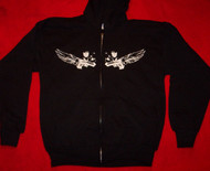 Lost Prophets Hoodie Sweatshirt Black Size Youth XL