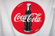 Coca-Cola T-Shirt White Size Large