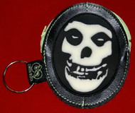 Misfits Coin Purse Glow In The Dark Skull Logo