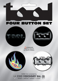 Tool Four Button Pin Set