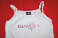 Eden's Crush Spaghetti Strap Tank Top Popstars White One Size
