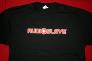 Audioslave Babydoll T-Shirt Letters Logo Black Size Junior Large