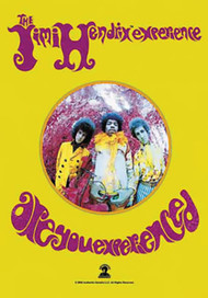 Jimi Hendrix Poster Flag Are You Experienced Tapestry