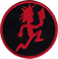 Insane Clown Posse Iron-On Patch Round Hatchet Man Logo