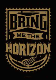 Bring Me The Horizon Poster Flag Dynamite Shield Tapestry