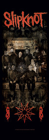 Slipknot Fabric Door Poster Crest