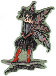 Amy Brown Iron-On Patch Dare Me Fairy