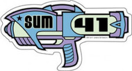 Sum 41 Vinyl Sticker Ray Gun Logo
