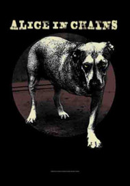 Alice In Chains Poster Flag Dog Logo Tapestry