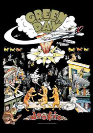 Green Day Poster Flag Dookie Tapestry