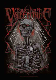 Bullet For My Valentine Poster Flag Skeleton Mom Tapestry